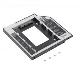 "Externí box DVD slim SATA3 pro 2.5"" HDD SSD 9,5 mm"