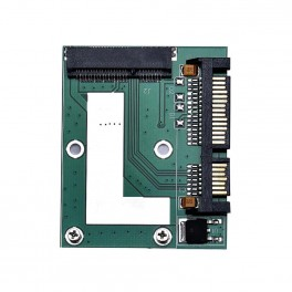 """Adaptér 2,5"""" SATA 22 pin pro mSATA 52 pin SSD"""