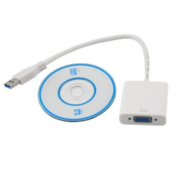 Video USB adaptér pro VGA (D-SUB)