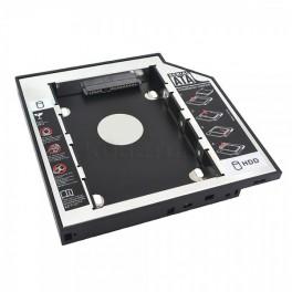"Externí box DVD slim SATA3 pro 2.5"" HDD SSD 12,7 mm"